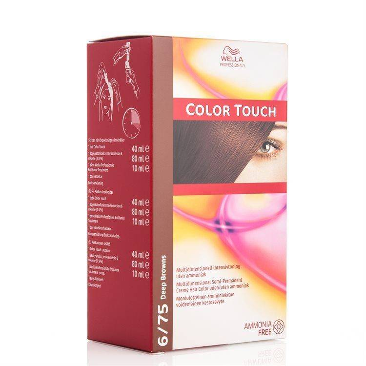 Wella Professionals Color Touch 130 ml – 6/75 Deep Browns