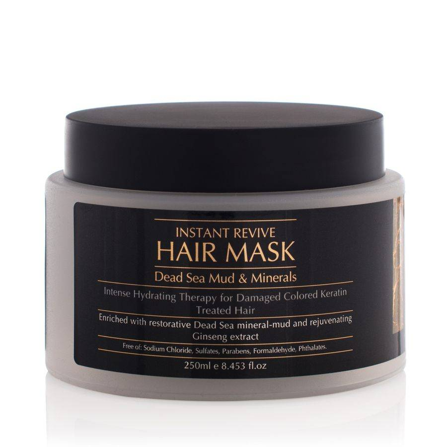 Minerals of Eden Instant Revive Hair Mask Dead Sea Mud & Minerals 250 ml