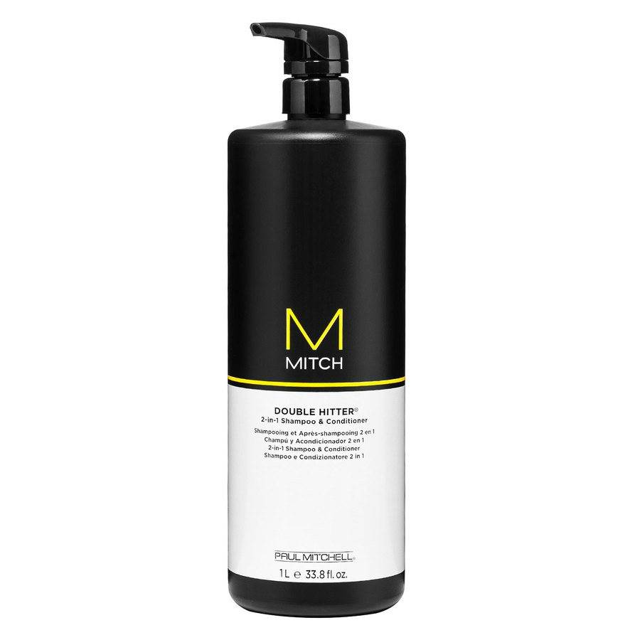 Paul Mitchell Mitch Double Hitter Sulfate Free 2-in-1 Shampoo & Conditioner 1 000ml