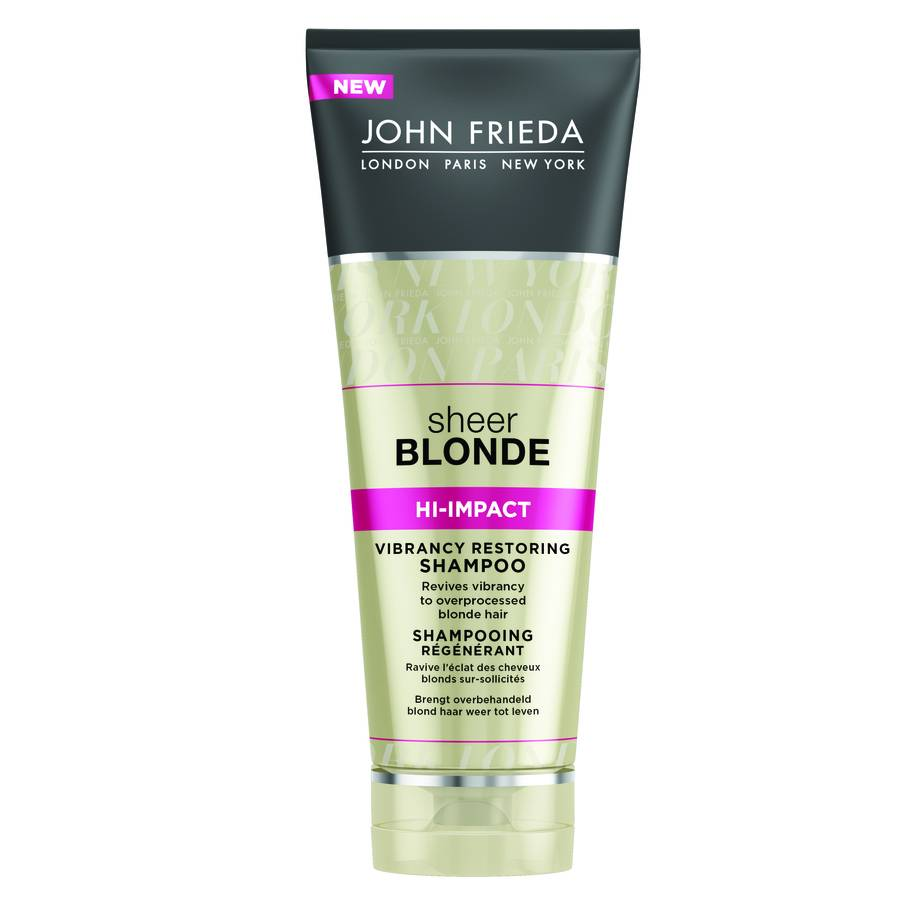 John Frieda Sheer Blonde Hi-Impact Vibrancy Restoring Shampoo 250 ml