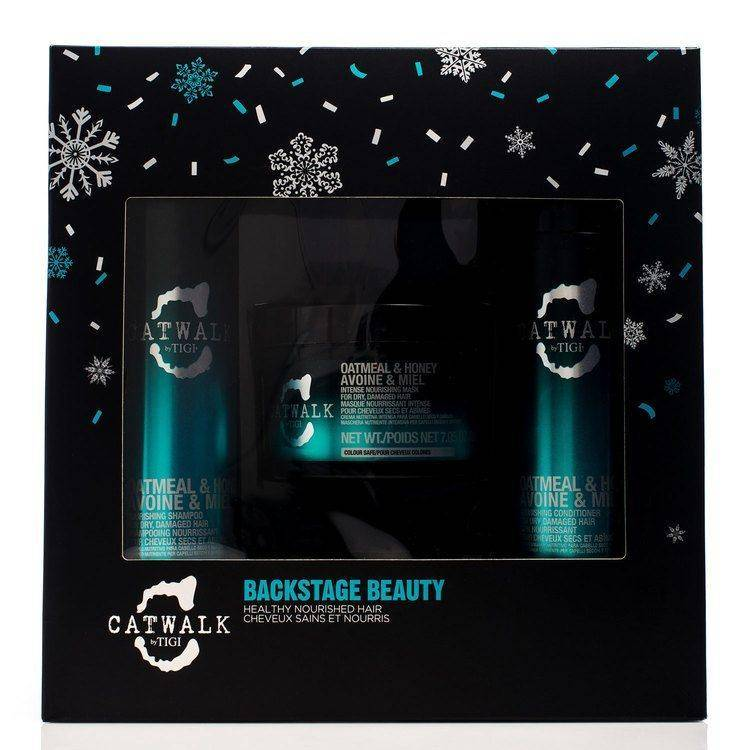 Tigi Catwalk Backstage Beauty Gift Set (300ml + 250ml + 200g)