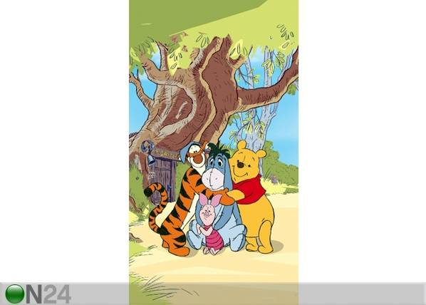 AG Design Fotoverho DISNEY WINNIE THE POOH AND FRIENDS 140x245 cm