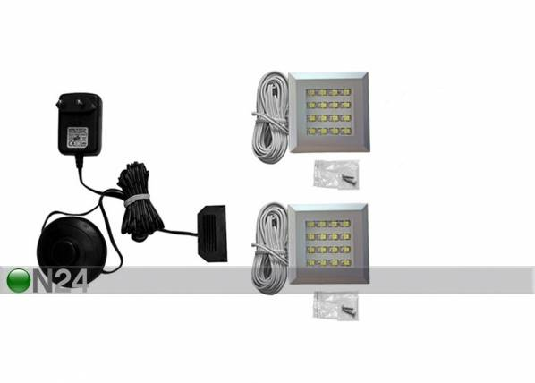 Camameble LED valaistus 2 kpl