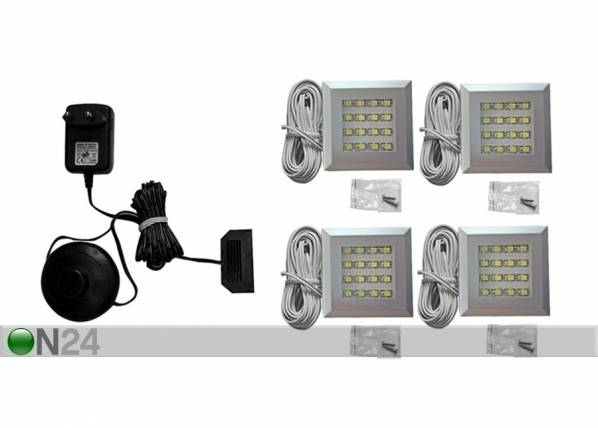 Camameble LED valaistus 4 kpl