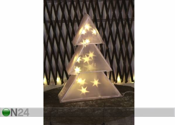 Star Trading Joulukoriste LED TREE 3D