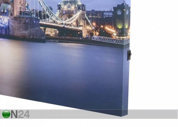 ART LED taulu ART TOWER BRIDGE 60x40 cm