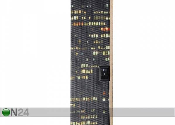 LED taulu EMPIRE STATE BUILDING 60x40 cm