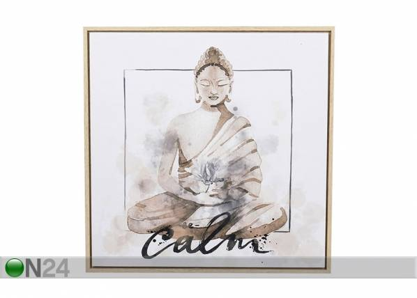 Home4you Taulu BUDDHA CALM 50x50 cm