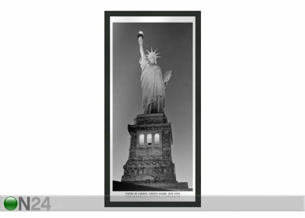 B&W Taulu B&W NEW YORK STATUE OF LIBERTY 23x50 cm
