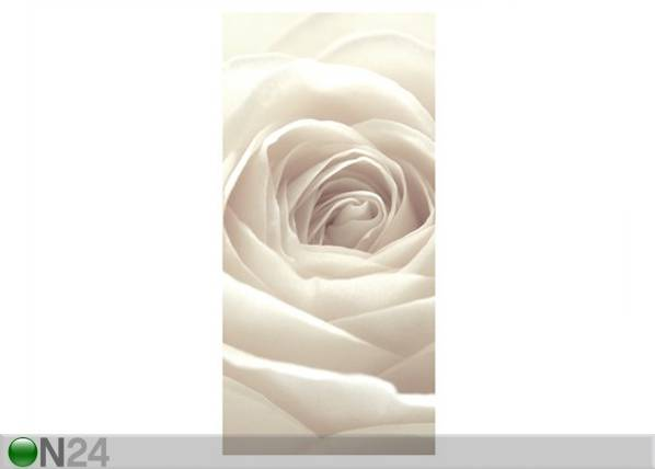 Paneeliverho PRETTY WHITE ROSE V