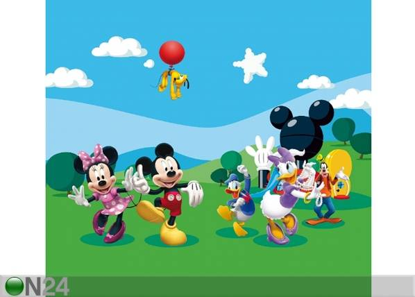 AG Design Fotoverho DISNEY MICKEY AND FRIENDS 180x160 cm