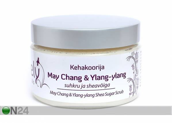 Jovely Vartalon kuorinta-aine MAY CHANG & YLANG-YLANG 330 gm