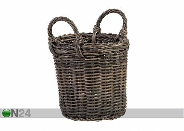 Carden4you Kori WICKER sangoilla Ø23,5xh22/28 cm