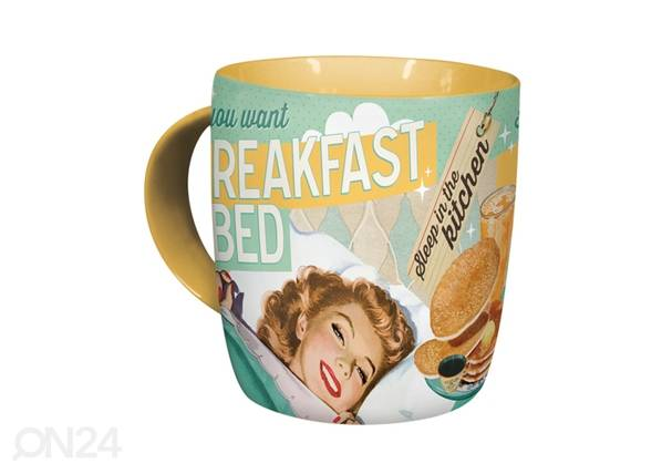 ART Muki IF YOU WANT BREAKFAST IN BED..