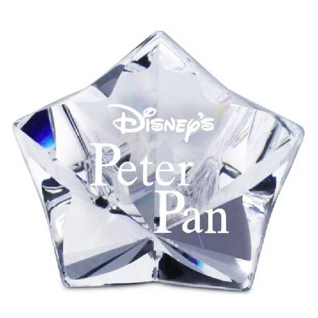 Swarovski Title Plaque Peter Pan