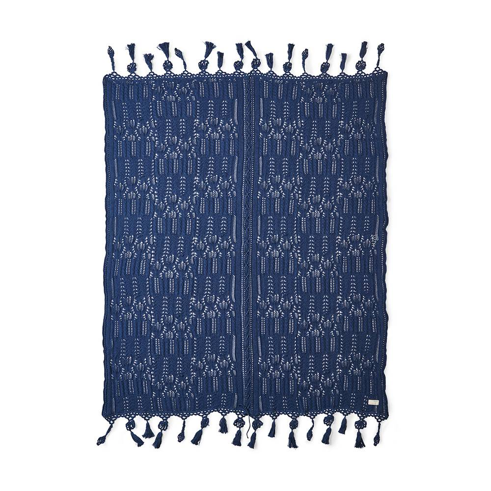 Odd Molly Home Cozy Huopa, Midnight Blue