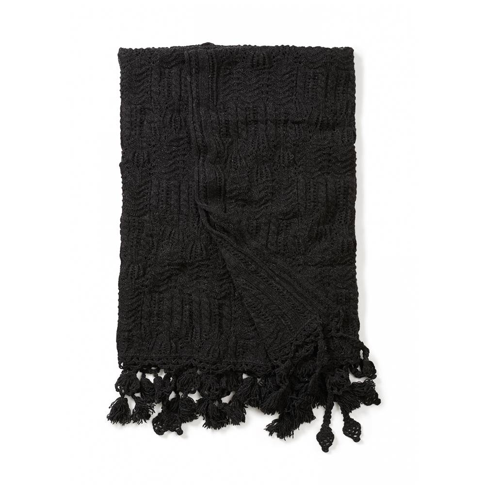 Odd Molly Home Cozy Viltti 140x140cm, Almost Black