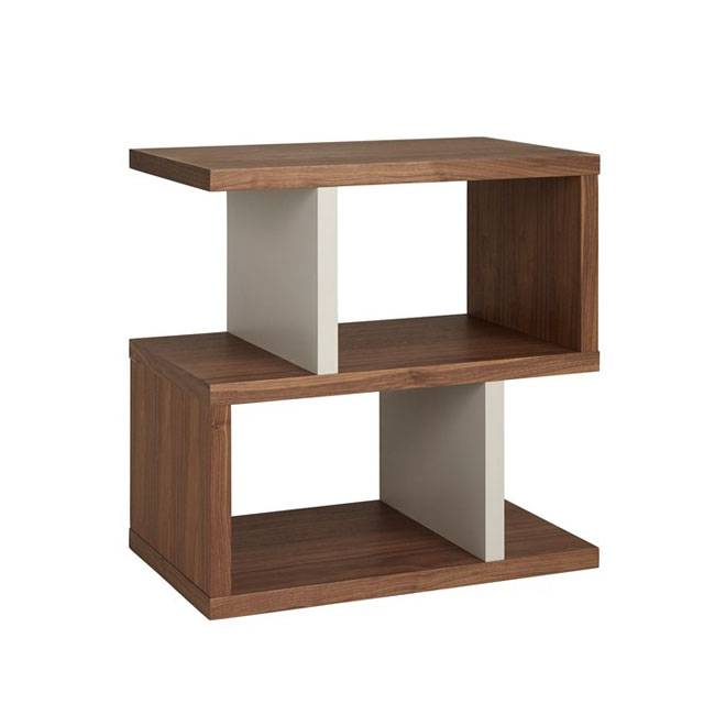 Content by Terence Conran Counter Balance Sivupöytä, Walnut/Pebble
