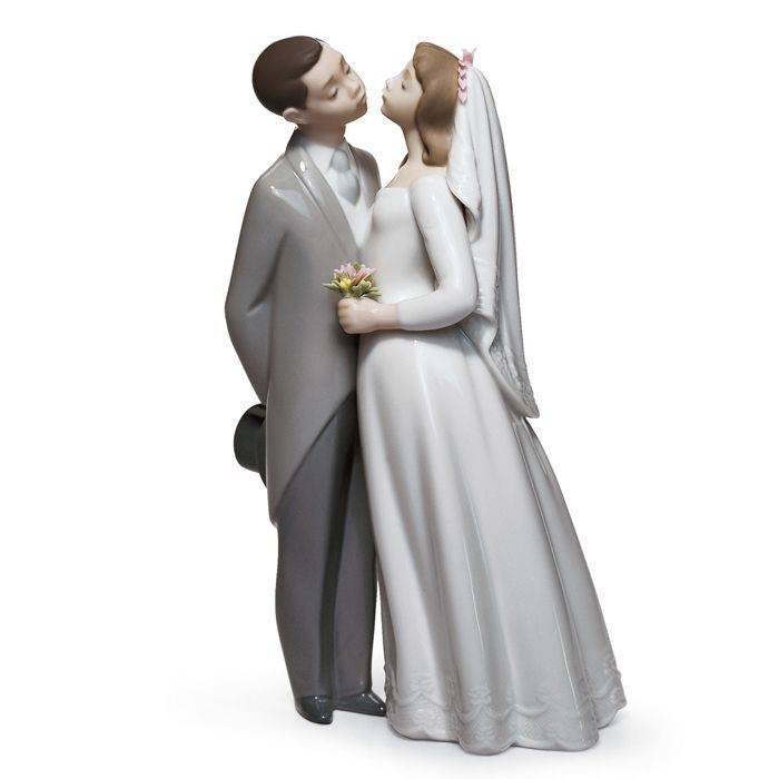 Lladro A kiss to remember, Gres