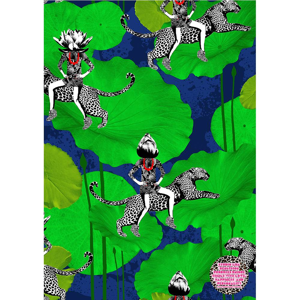 Lisa Bengtsson Happy Pattern Poster A3