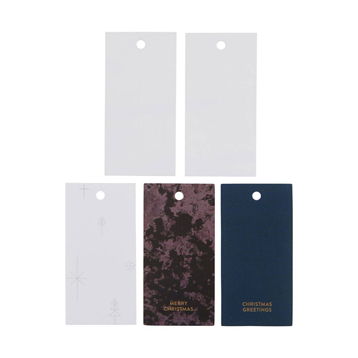 Monograph Gift tags, Variation 1, 50 pcs/pack