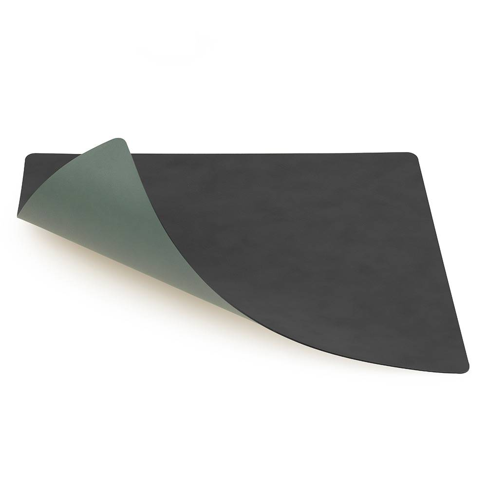 Lind DNA Square Lasinalunen 10x10cm, Anthracite/Green