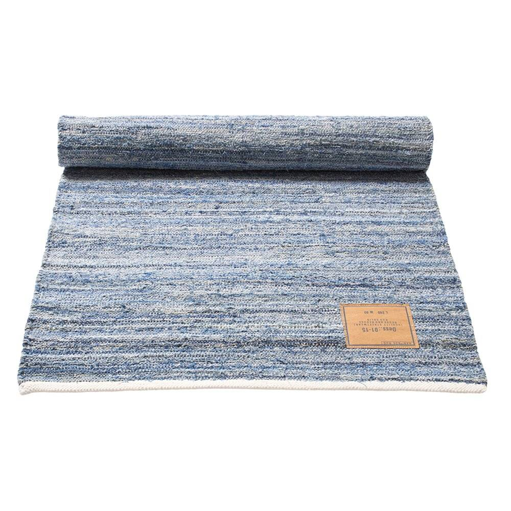 Rug Solid Jeans Matto, 80x240