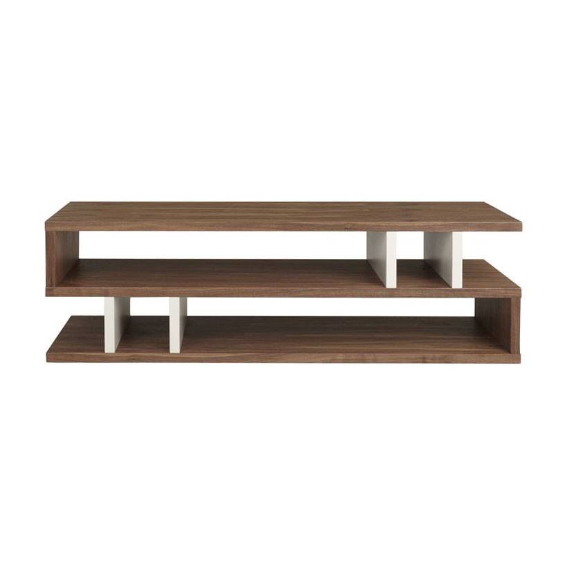 Content by Terence Conran Counter Balance Sohvapöytä, Walnut/Pebble