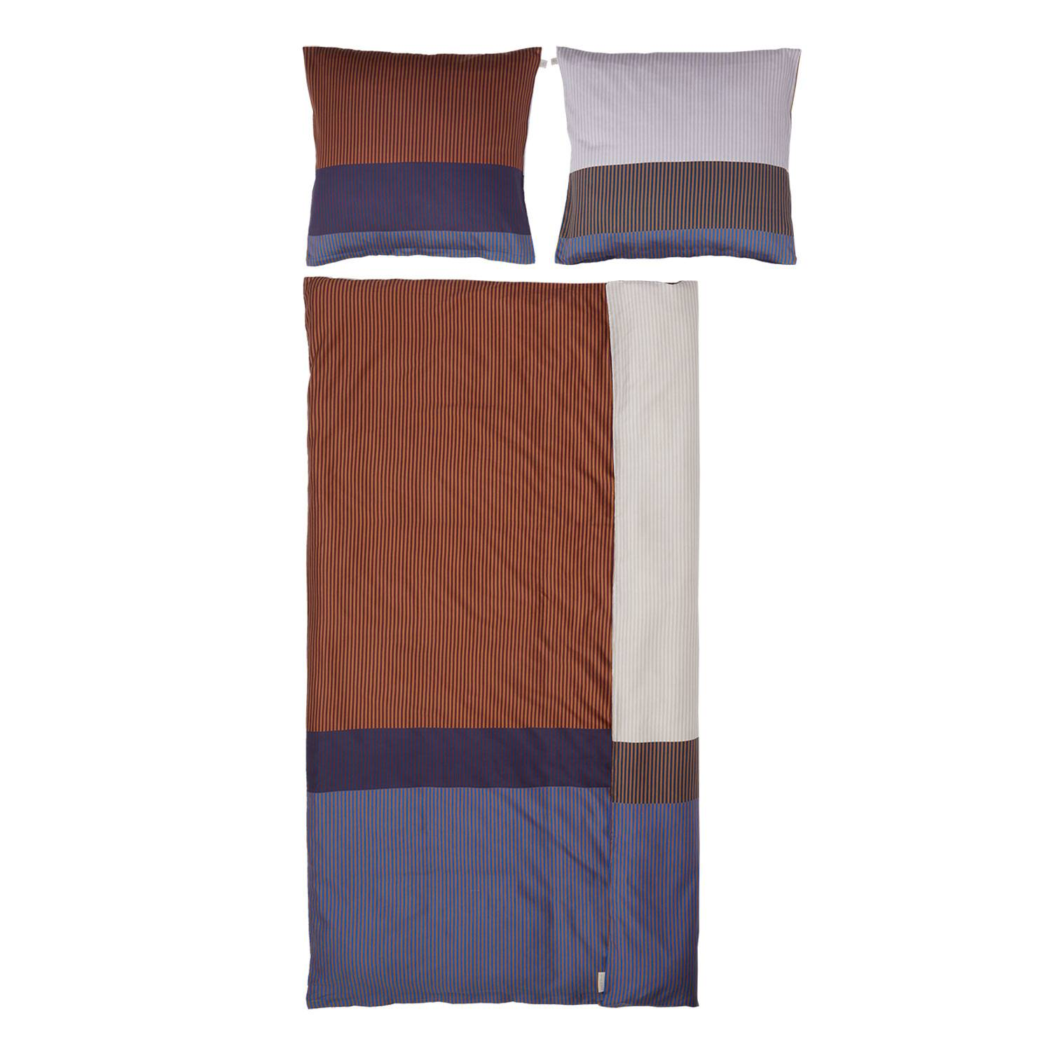 Mette Ditmer Disorder Bed Set 150x210cm, Tobacco