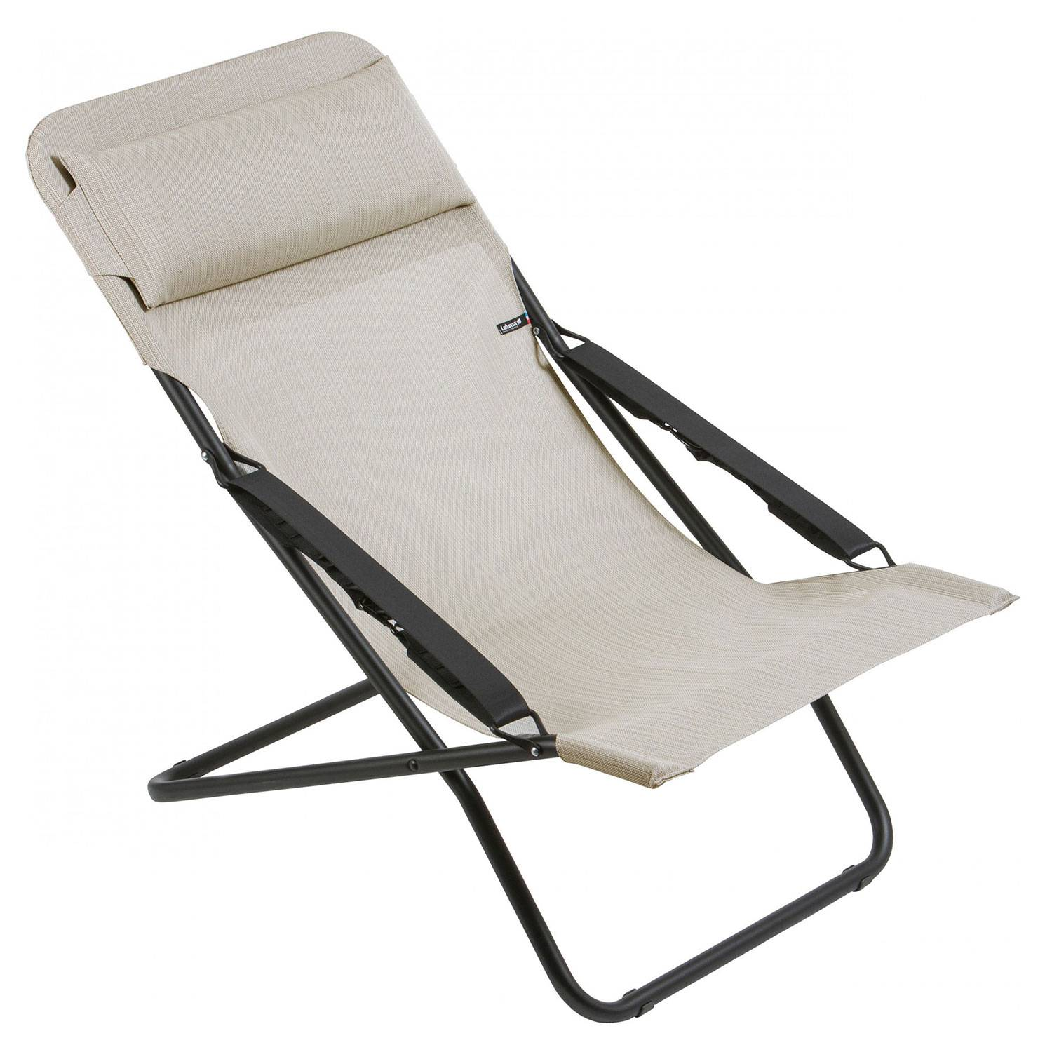 Lafuma Transabed Sunlounger, Duo Galet
