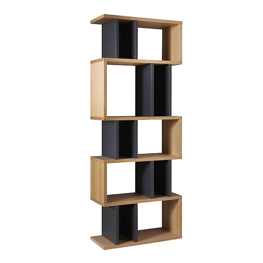 Content by Terence Conran Counter Balance Alcove Hylly, Tammi/Charcoal