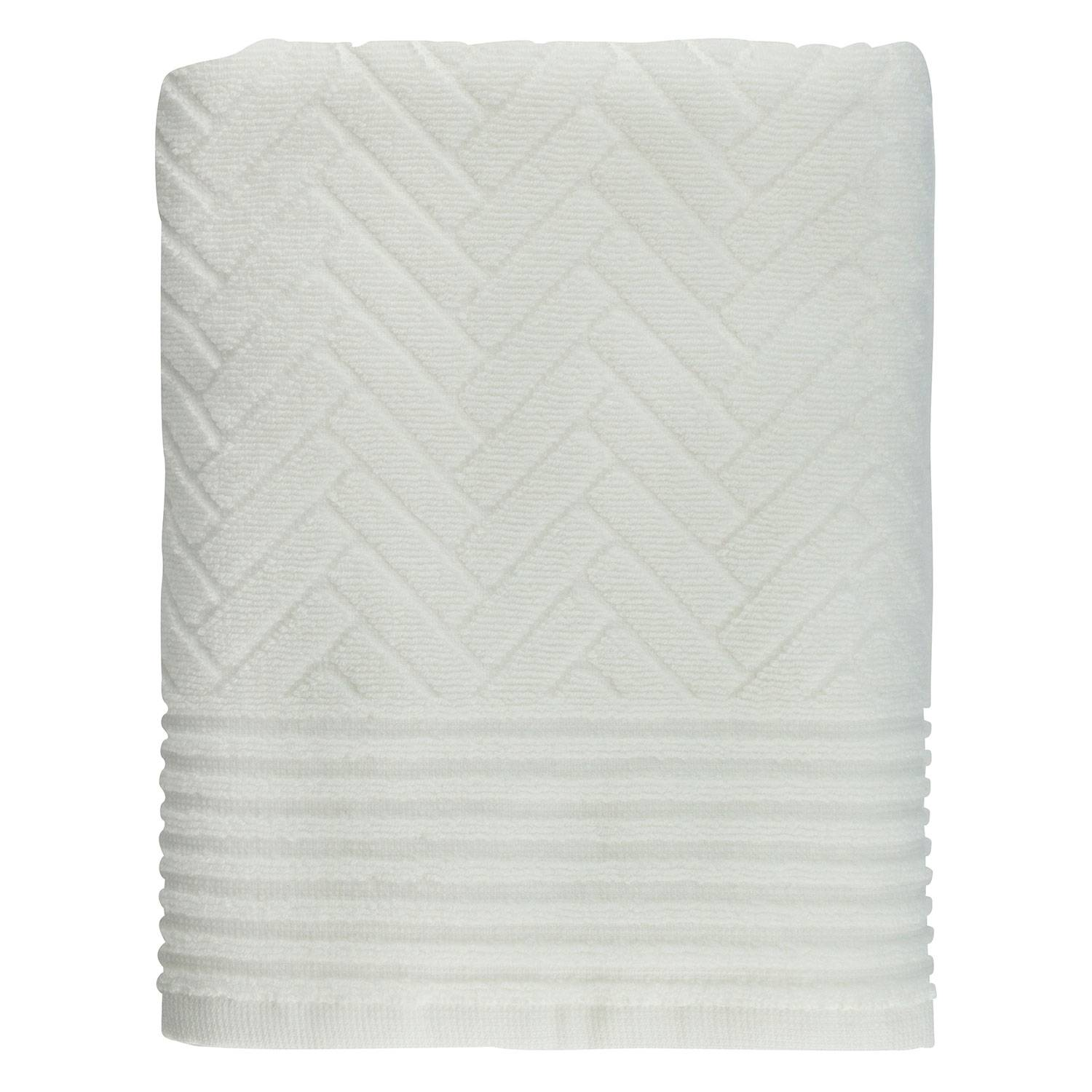 Mette Ditmer Brick Guest Towel 35x55cm 2-Pack, Off-White