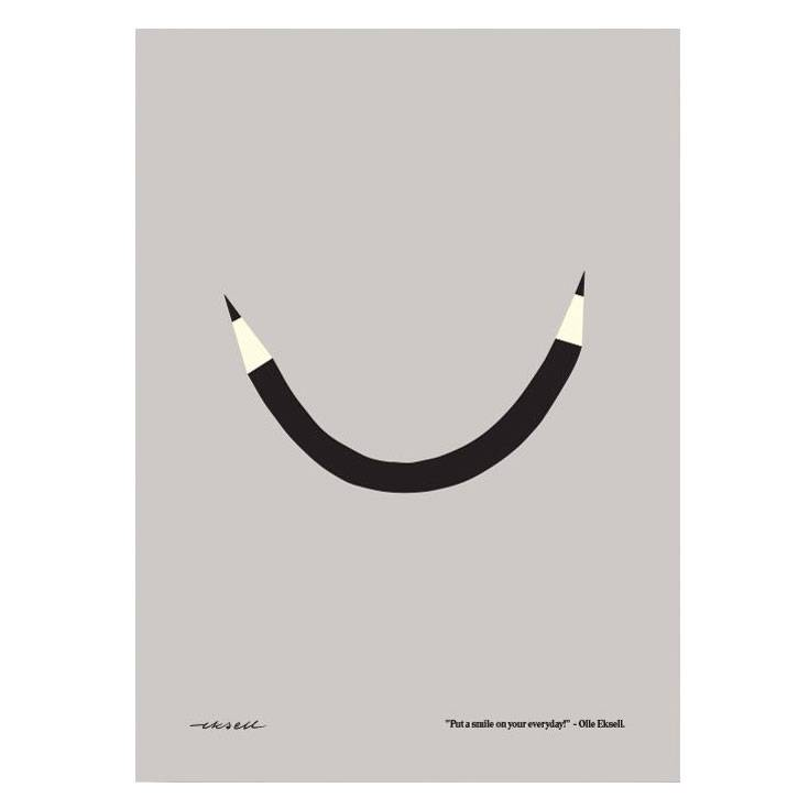 Olle Eksell Put A Smile On Your Everyday Juliste 50x70cm