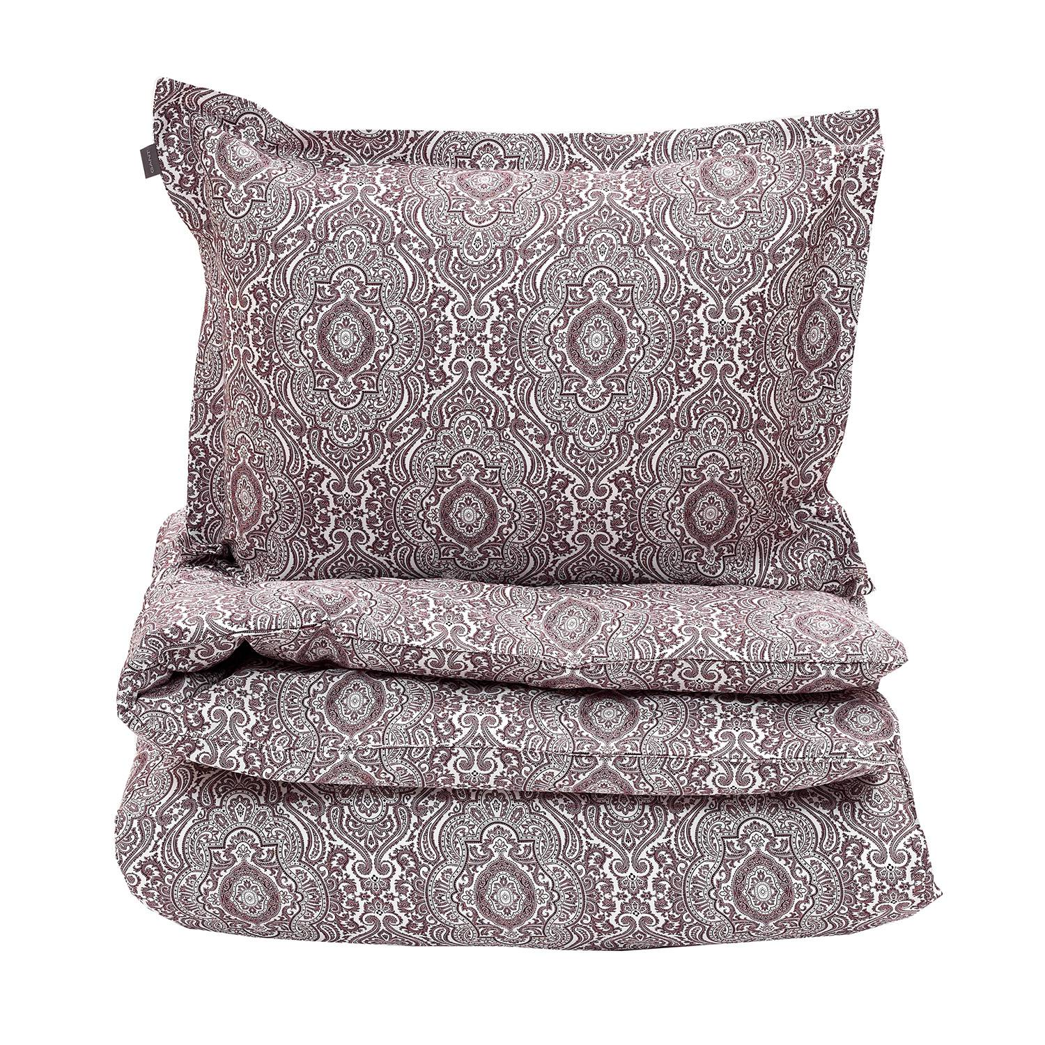 Gant Home Tiffany Paisley Pussilakana 220x220, Purple Fig