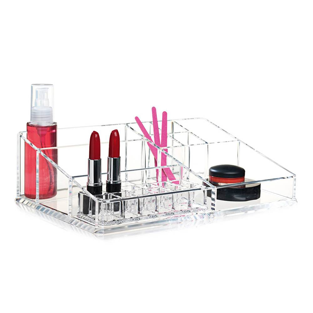 Nomess Copenhagen Clear Make-Up Organiser XL, Clear