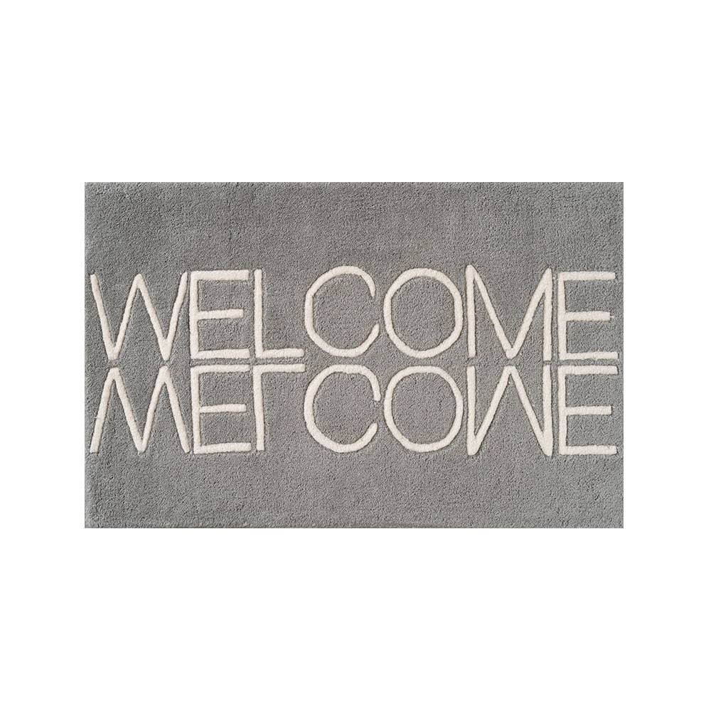 Linie Design Welcome Ovimatto 50x80cm, Grey