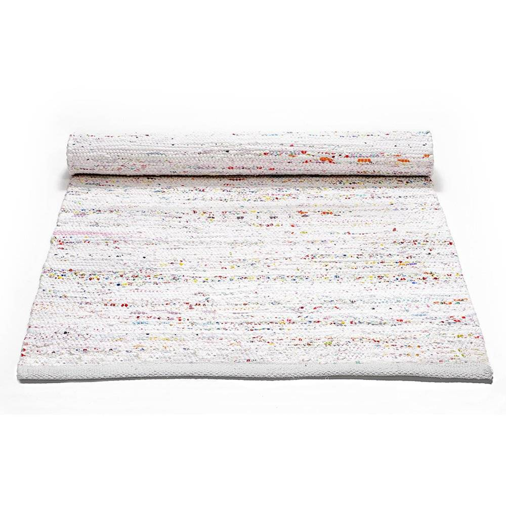 Rug Solid Cotton Matto 65x135, Light Pastel mix