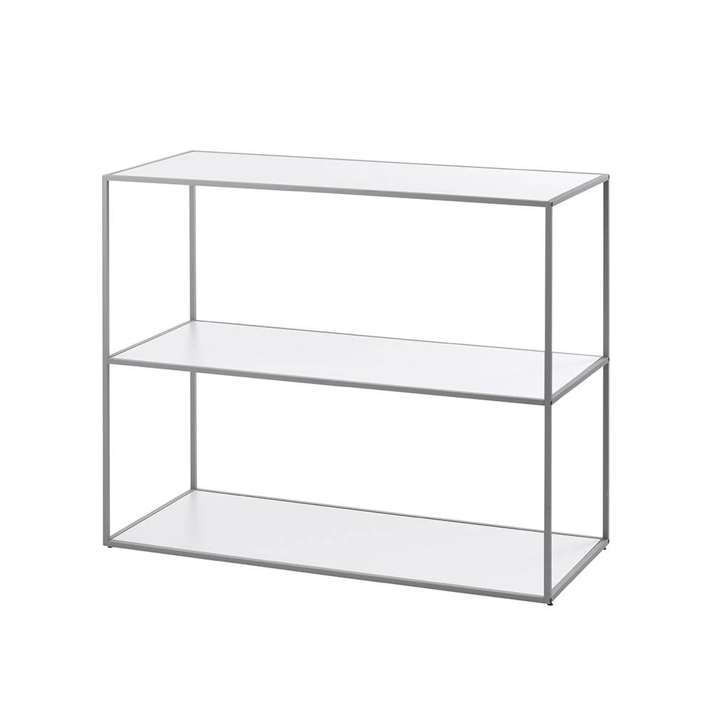 by Lassen Twin Bookcase Hylly Small, Harmaa