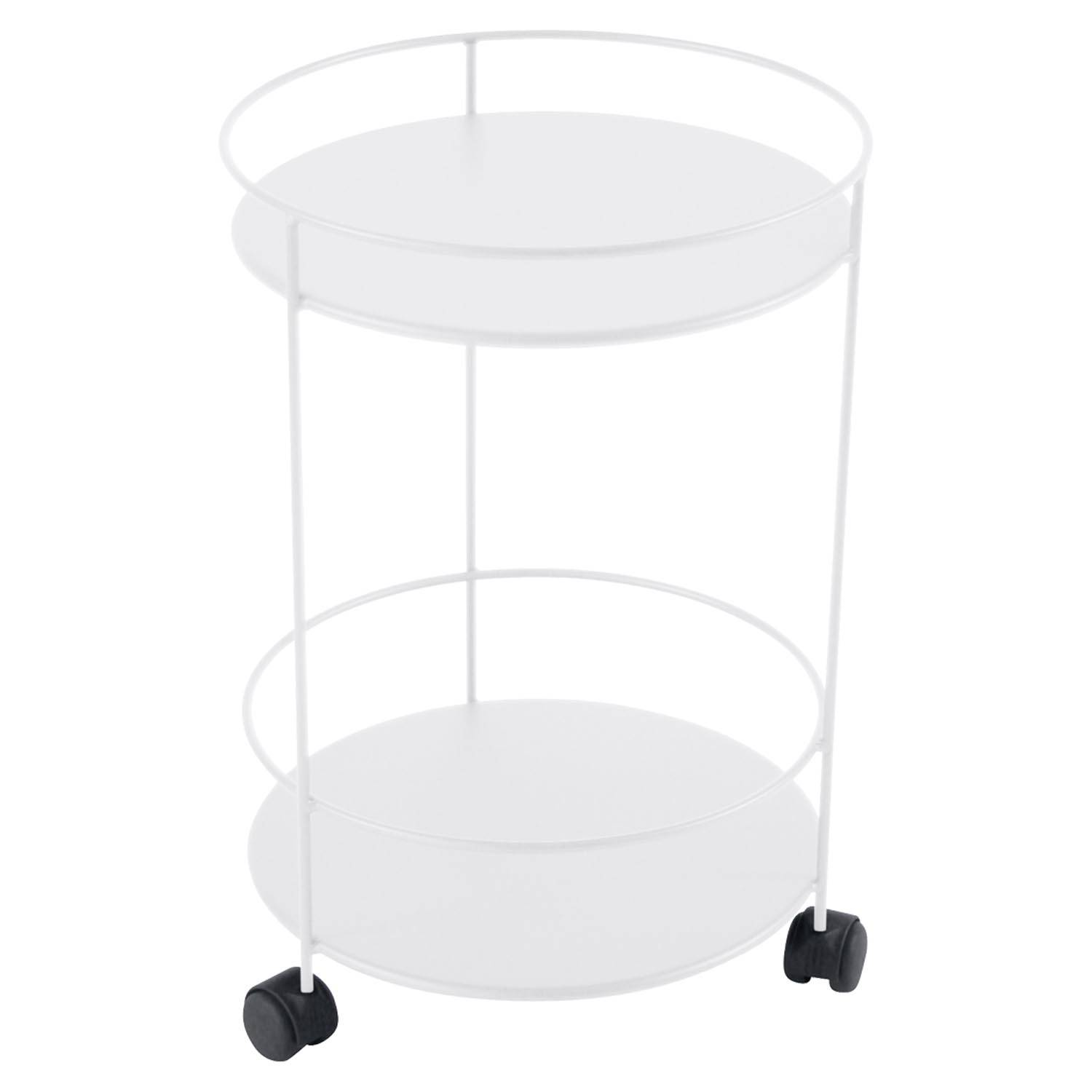 Fermob Small Table Perforated Ø40, Cotton white
