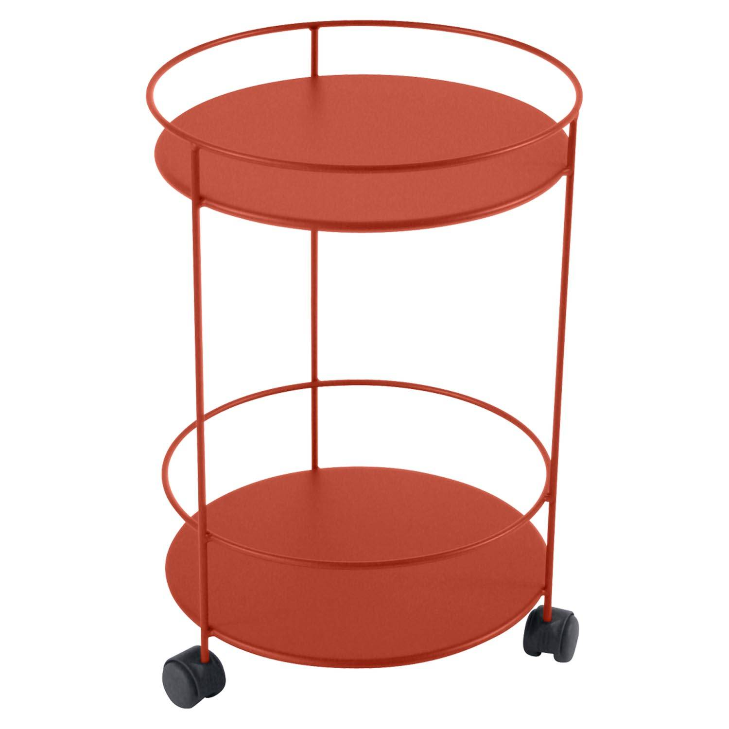 Fermob Small Table Perforated Ø40, Paprika