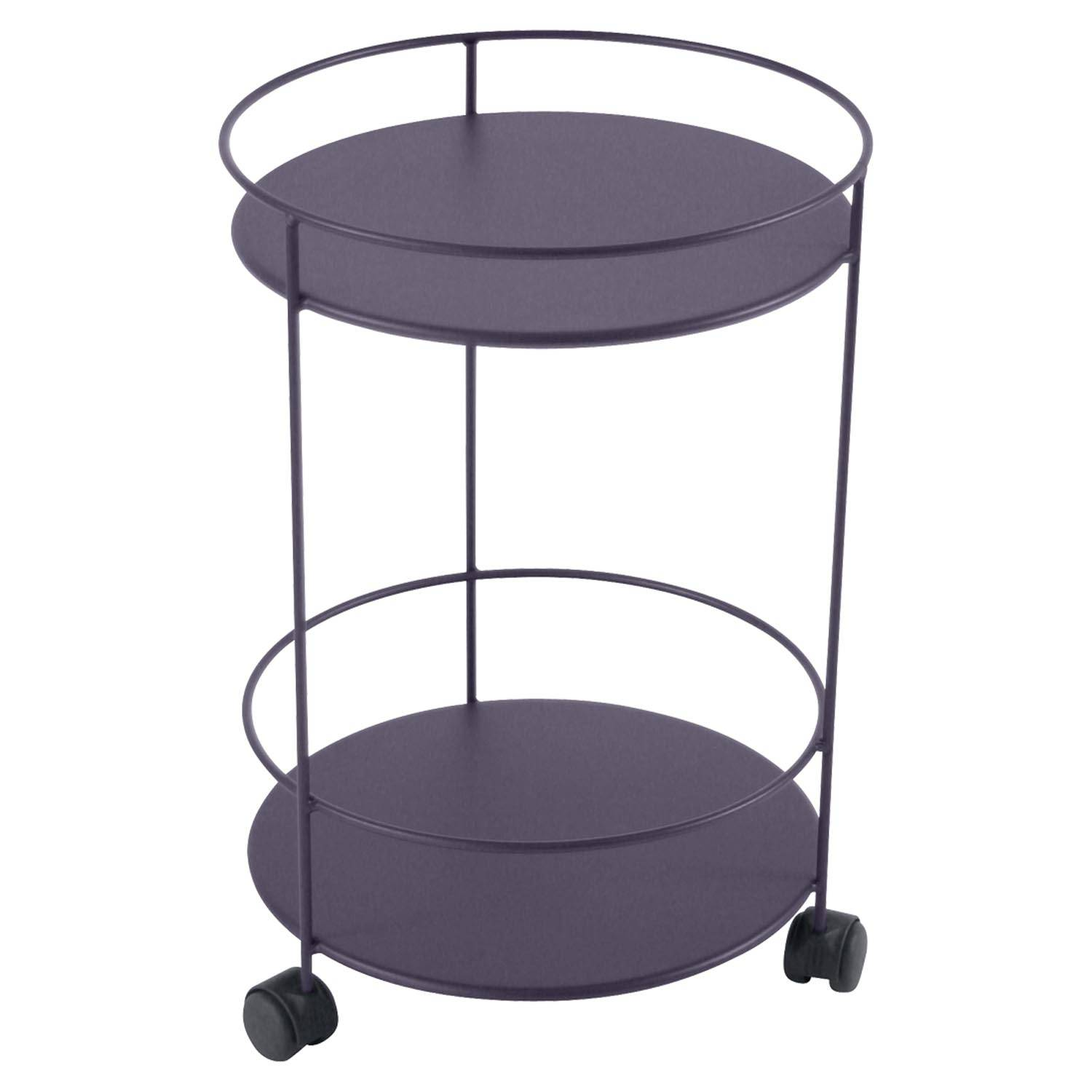 Fermob Small Table Perforated Ø40, Plum