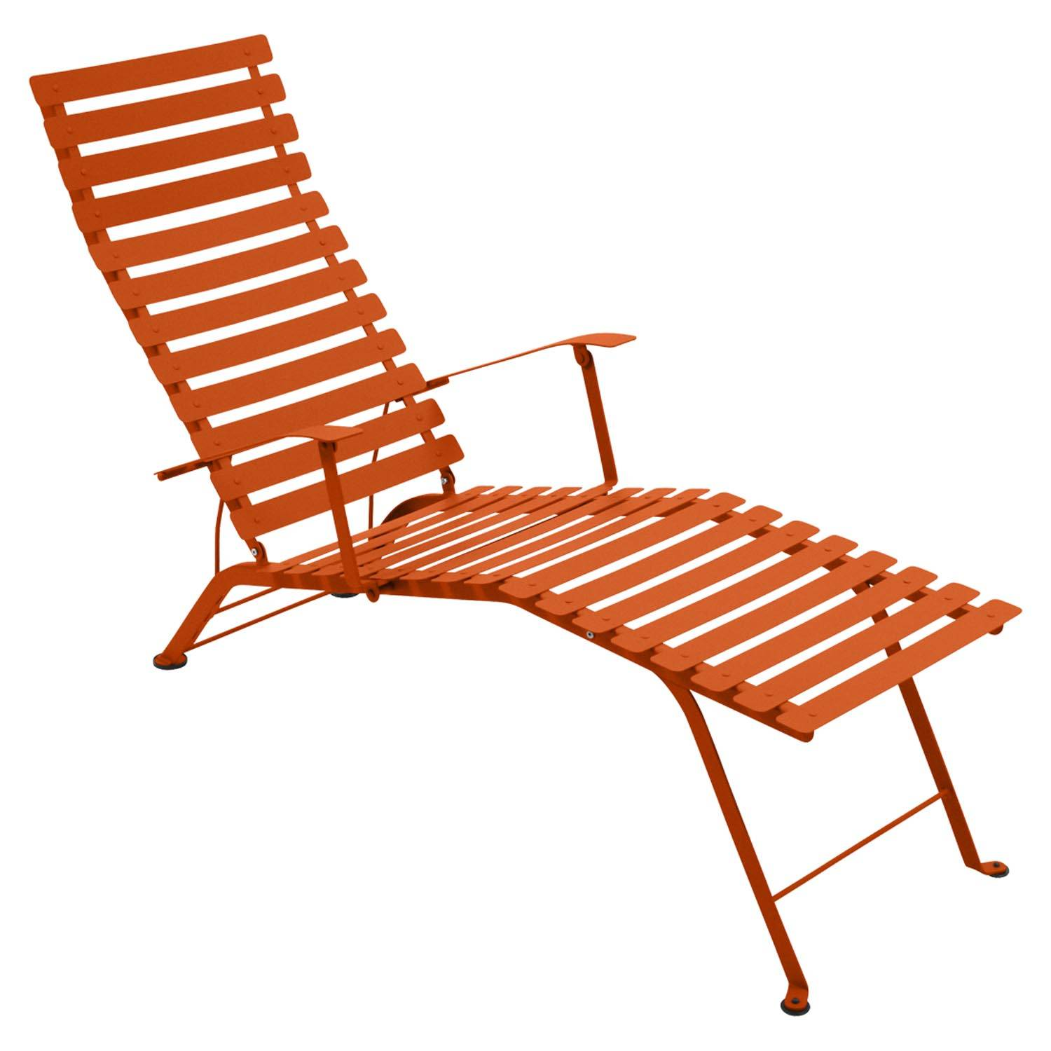 Fermob Bistro Chaise Longue, Carrot