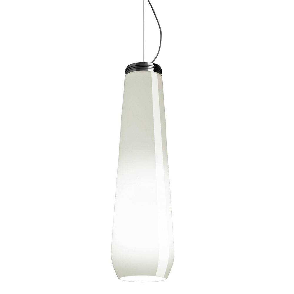 Diesel with Foscarini Glass Drop Kattovalaisin, Valkoinen