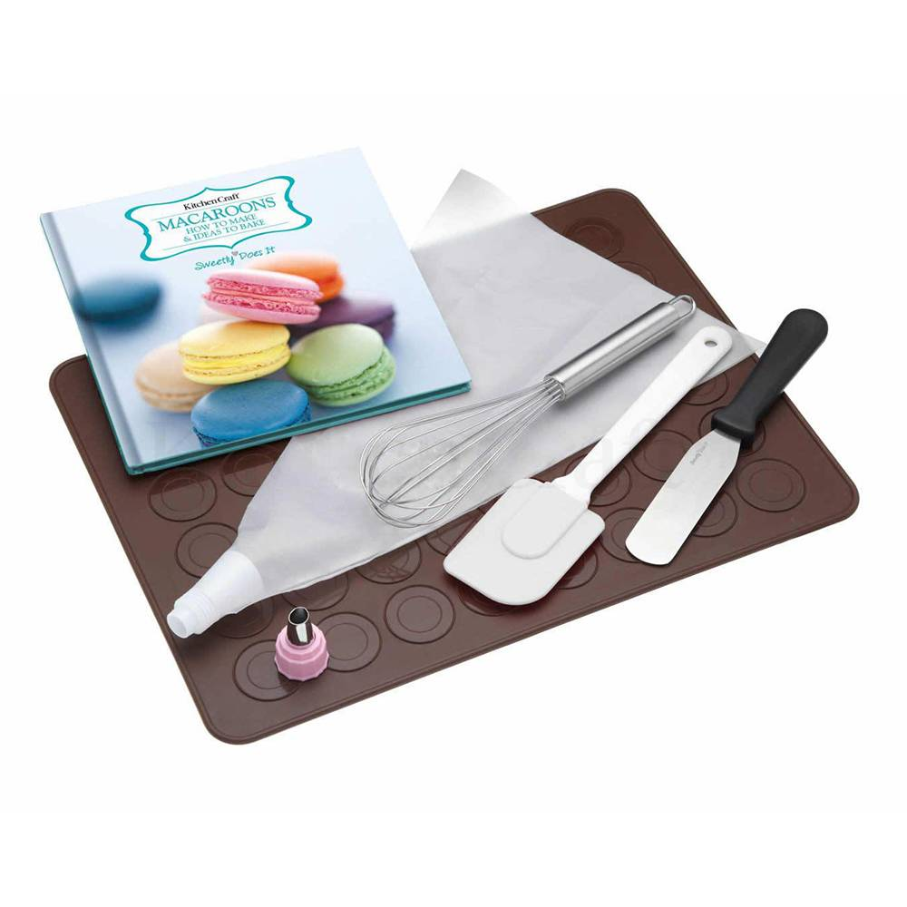 Kitchen Craft Sweetly Does It, Macaroon Lahjasetti, 7 Osaa