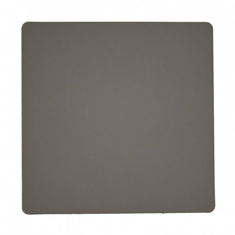 Lind DNA Square Lasinalunen 10x10cm, Softbuck Dark Grey