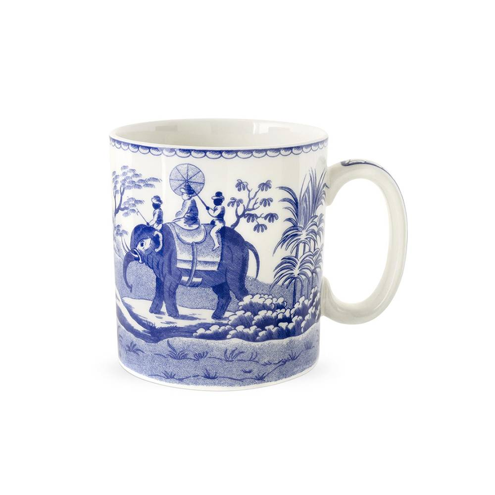 Spode Blue Room Muki, Archive, Indian Sporting 250 ml