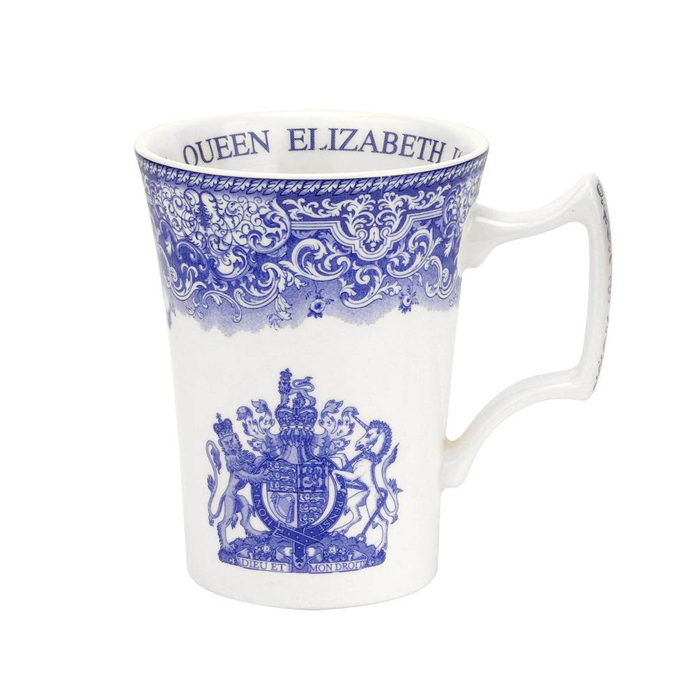 Spode Blue Room Muki 28 cl, Queen Elizabeth