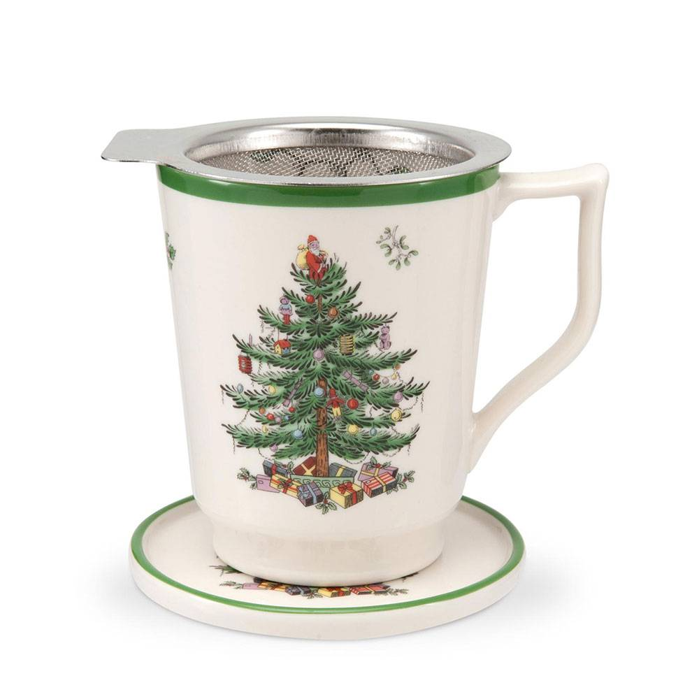 Spode Christmas Tree Tisaniere, 35 cl