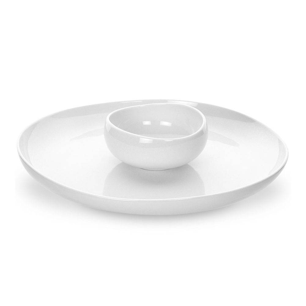 Portmeirion Ambiance Pearl, Chip & Dip