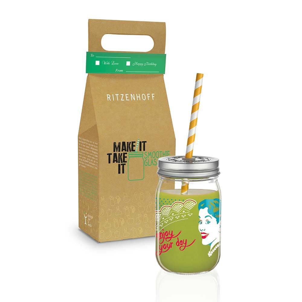 Ritzenhoff Make It Take It Smoothie Muki 45cl, Hilles